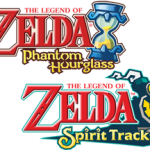 Phantom Hourglass and Spirit Tracks logos
