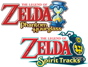 Phantom Hourglass and Spirit Tracks logos