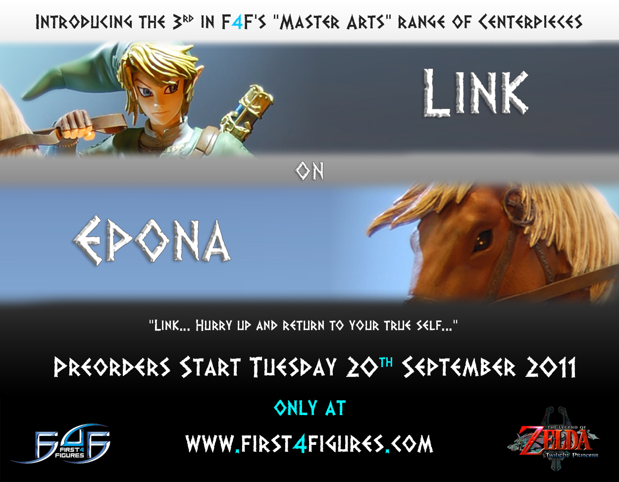 Zelda Quotes Delectable First 4 Figures Link On Epona  Zelda Dungeon