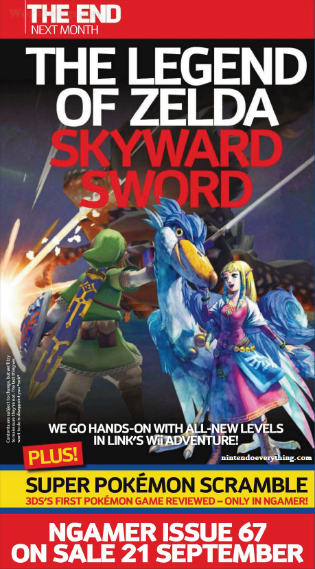 More of Skyward Sword to be Revealed in Next Issue of NGamer
