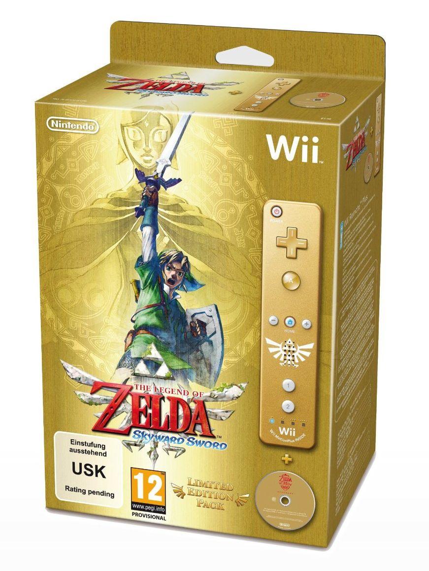 The legend of zelda skyward sword limited edition – video game shelf.