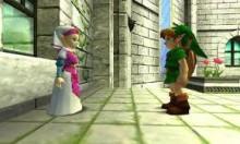 Meeting Zelda With All Three Spiritual Stones Glitch