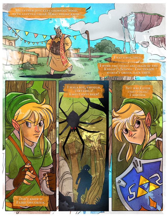 Penny Arcade Skyward Sword Comic: Page 3 – Zelda Dungeon   660 x 854 jpeg 225kB