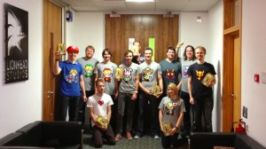 Hand-made Felt Zelda Shirts for a Good Cause