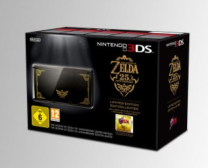 Legend of Zelda 25th Anniversary 3DS Bundle Coming to America