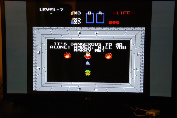 The Legend Of Zelda Hacked Marriage Proposal Zelda Dungeon
