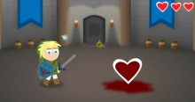 The Legend of Zelda Cartoon – How Link Absorbs Heart Containers