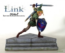 Legend of Zelda Link Custom Sculpted Statue