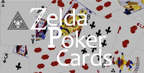 Featured Fanart: Zelda Poker Cards