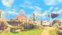 Skyward Sword: Skyloft Concept Artwork