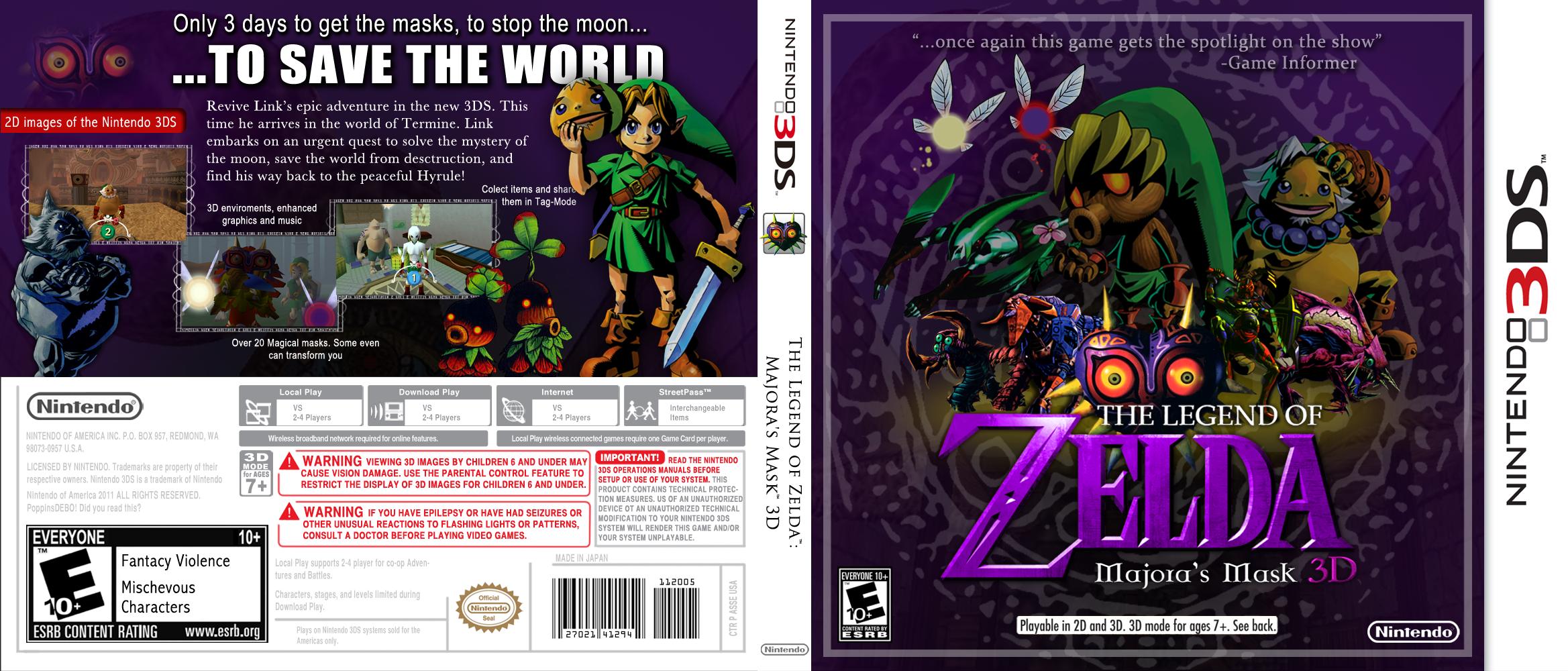nintendo to remaster the legend of zelda majora s mask for 3ds