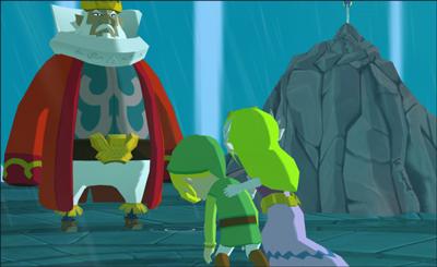 Link, Zelda, and King Daphnes