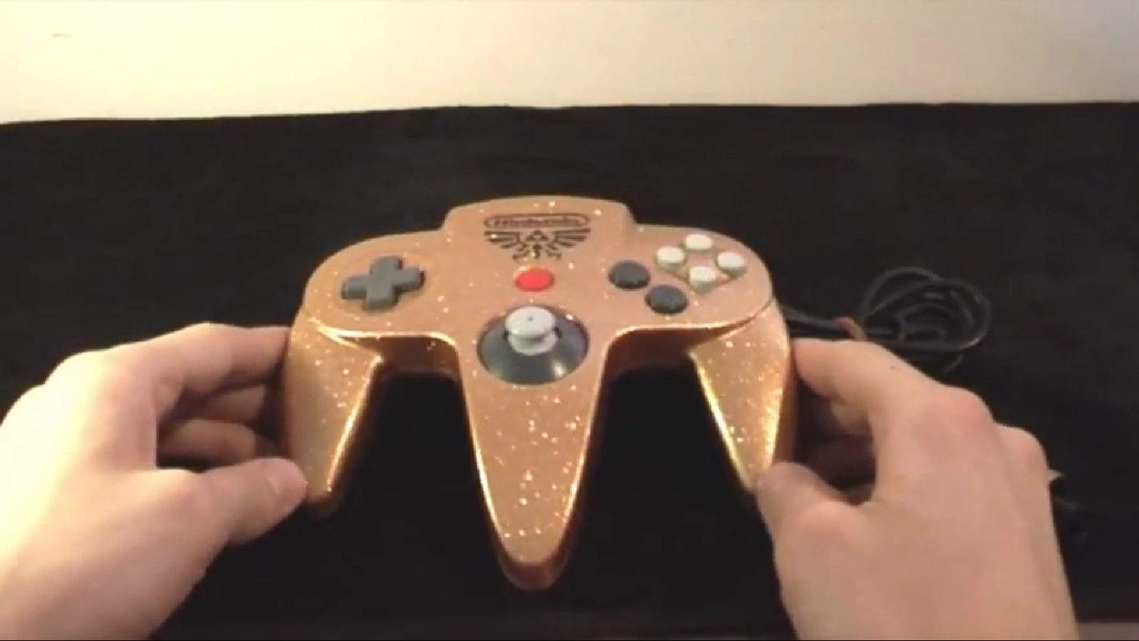 Custom Zelda Themed Nintendo 64 Controller - Zelda Dungeon