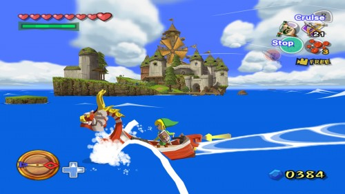 Wind Waker Great Sea