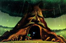 Ocarina of Time Dungeons: Inside the Deku Tree