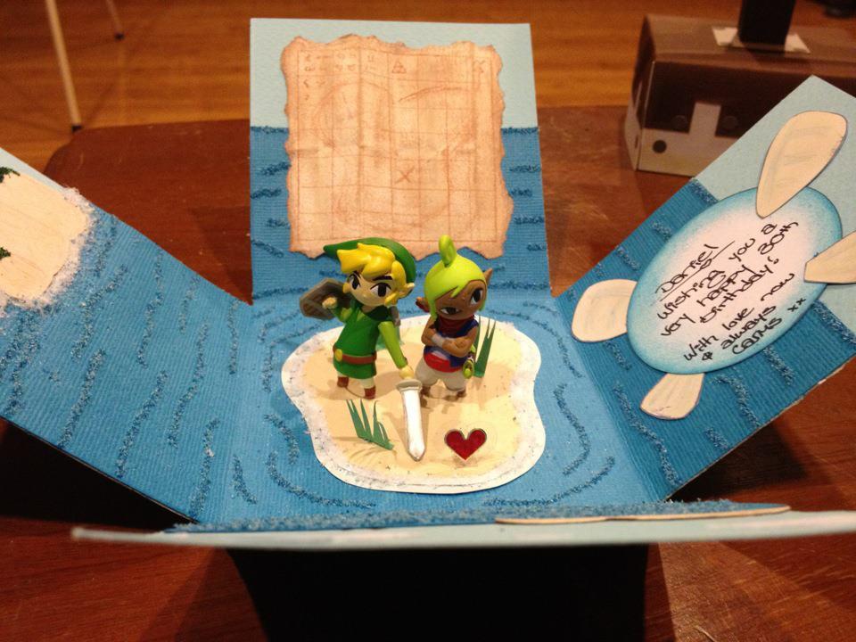 Incredible Zeldathemed Birthday Card Zelda Dungeon – Themed Birthday Cards