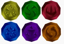 Rupees and Medallions on Etsy