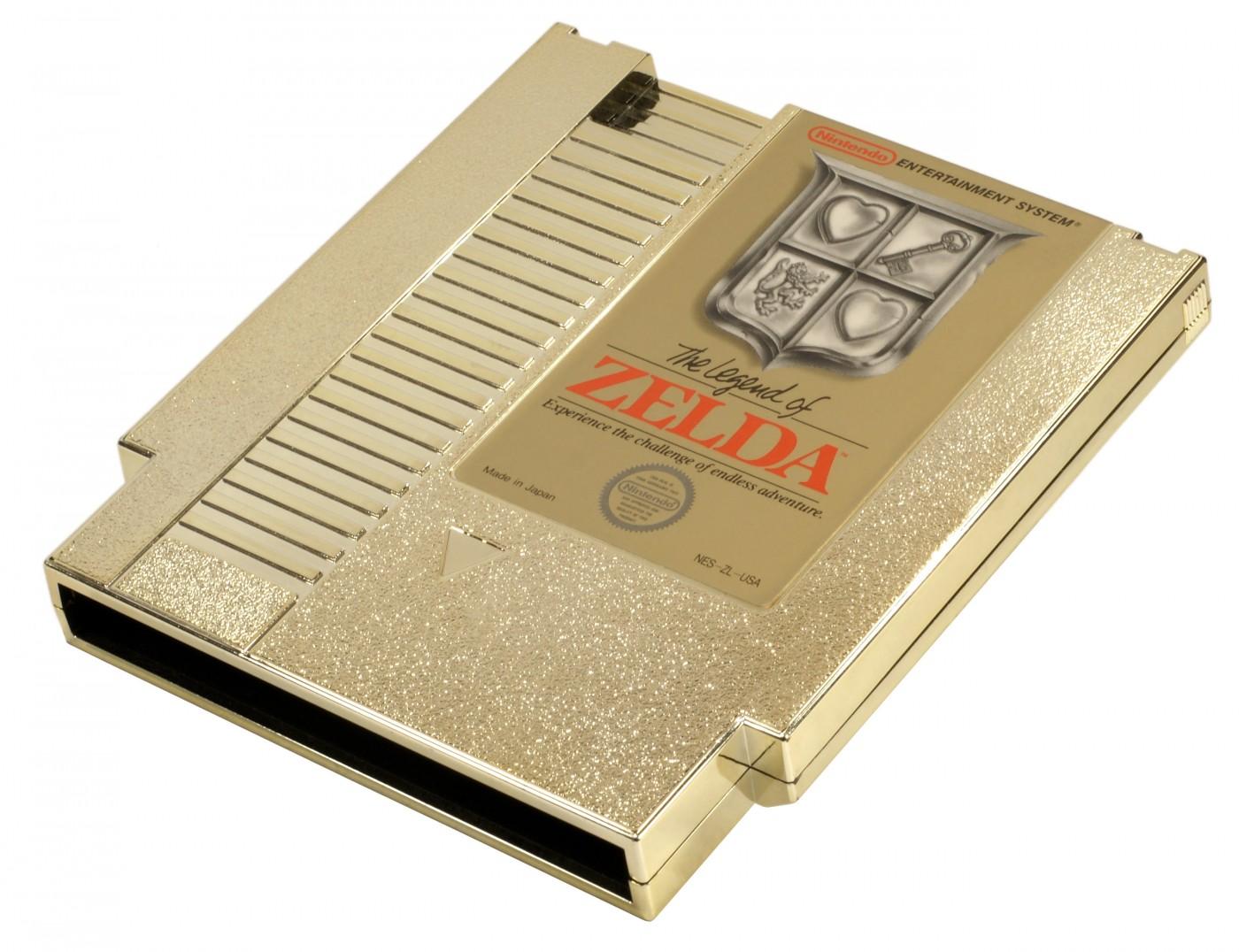 Legend of Zelda Golden Cartridge Celebrates 25 Years in