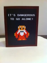 Legend of Zelda Valentine Card from Etsy