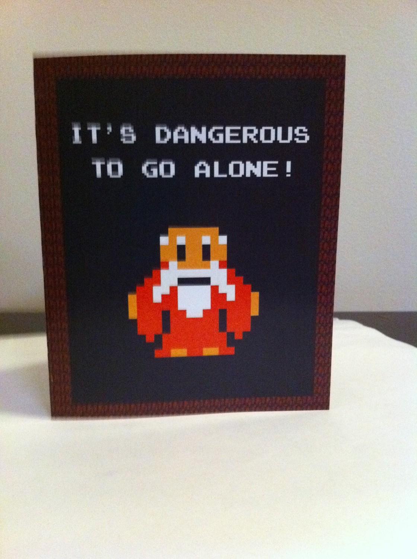 Legend of Zelda Valentine Card from Etsy Zelda Dungeon – Legend of Zelda Valentine Card