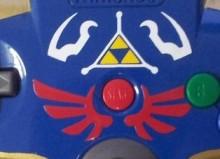 Zelda-Themed N64 Controller