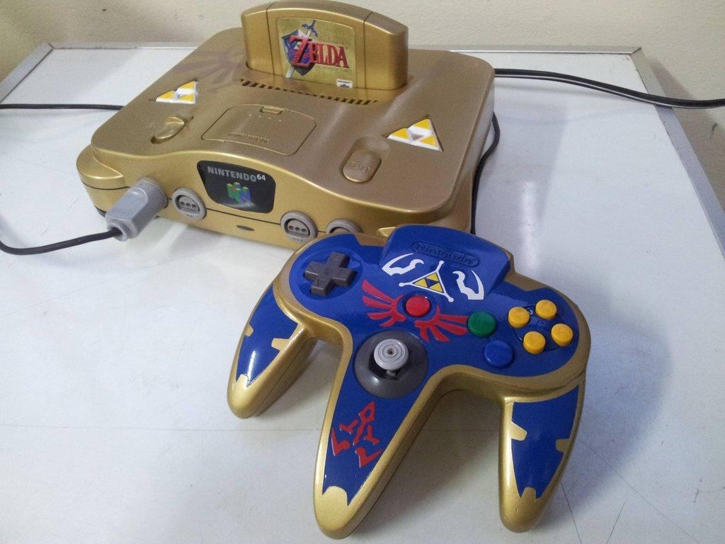Zelda themed n64 controller zelda dungeon - Super nintendo 64 console ...