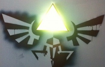 Hylian Crest Wall Lamp