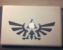 Zelda Decals for Macs