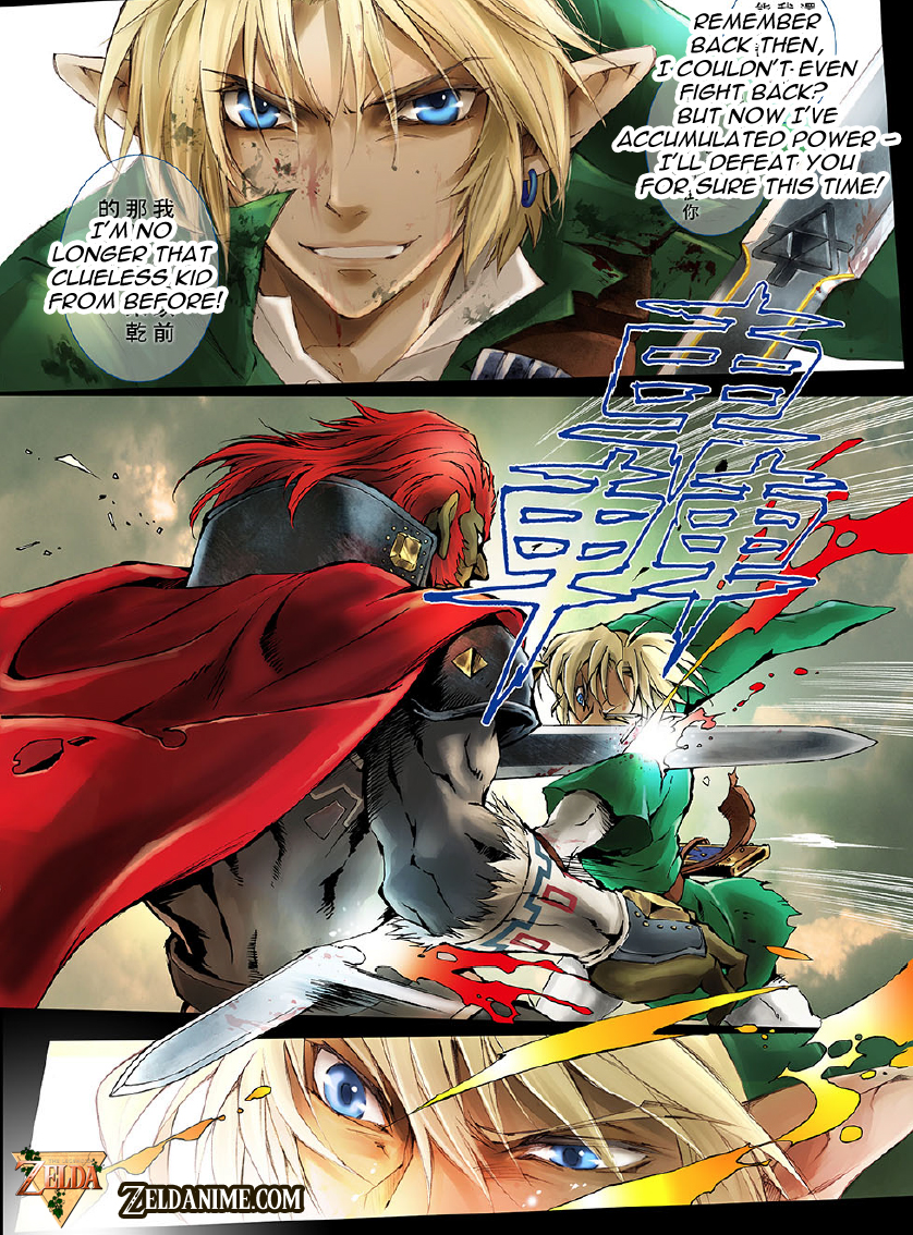 Now That You Can Read The Comic What Do Think Like Cliffhanger Ending And Emphasis On Link Zeldas Relationship