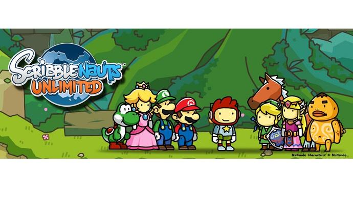Zelda Characters Get Cameos in Scribblenauts Unlimited
