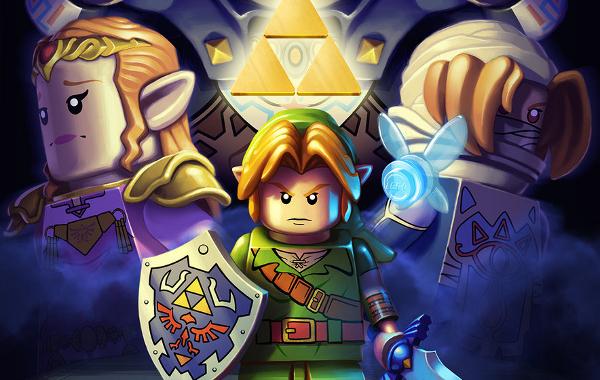 Hyrule Map Made Entirely of LEGO Bricks - Zelda Dungeon
