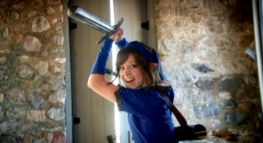 lindsey stirling pot smasher zelda dungeon