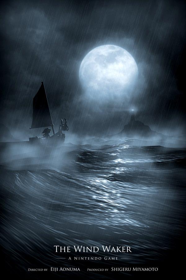 Legend Of Zelda Wind Waker Poster I ve seen The Wind Waker