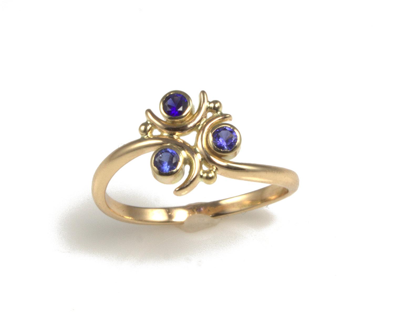 Miranda Scott: Spiritual Stones Zelda Wedding Rings At Websimilar.org