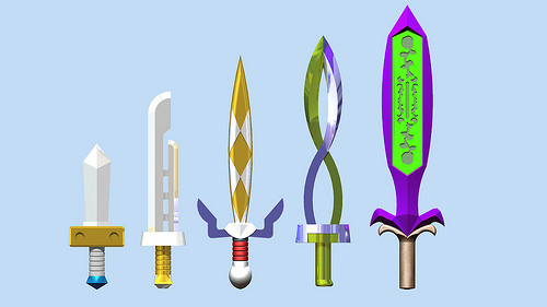 Majora's Mask Swords
