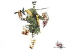 Custom diamond link pendant zelda dungeon always aloadofball Choice Image