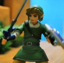 Zelda stop motion animation