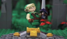 Tribute to Zelda in LEGO stop-motion