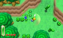 A Link Between Worlds Overworld video, Nintendo commentary included