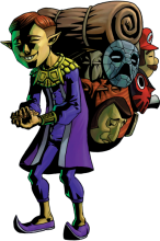 Who is the Happy Mask Salesman?