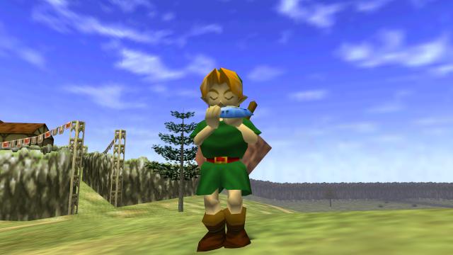 Link_OoT_Ocarina