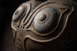 Majora's Mask wood carving