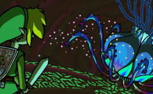 Zelda Fanart Spotlight- Kill the Plant