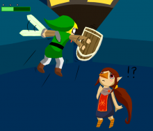 """Zombie Hover glitch"" confirmed in The Wind Waker HD"