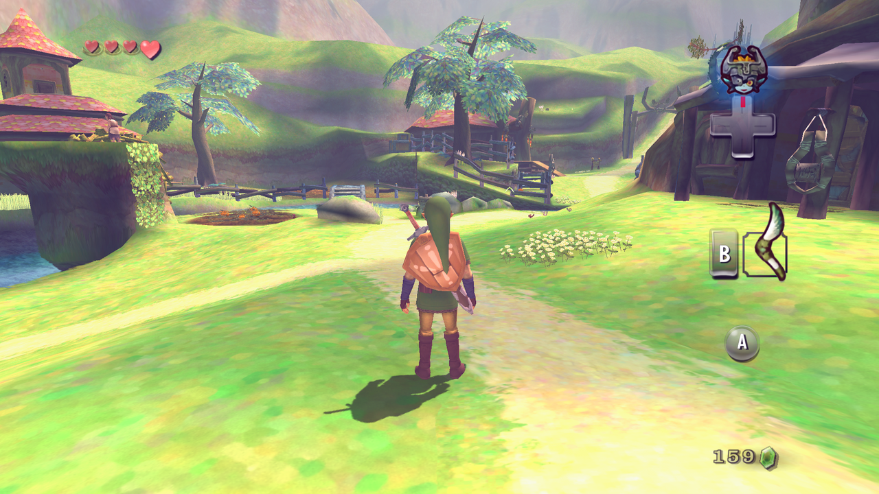 Skyward Sword texture pack for Twilight Princess - Zelda Dungeon