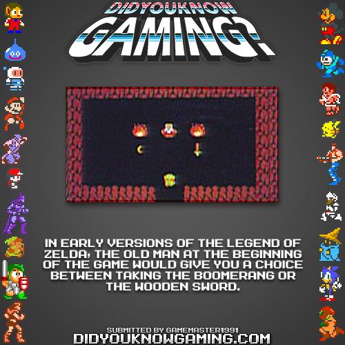 Dykg Old Man Originally Gave Sword And Boomerang Zelda Dungeon