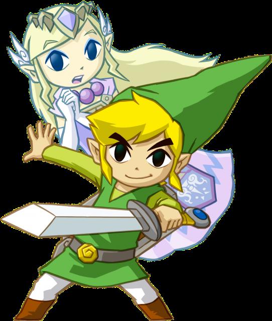 Link and Zelda ST