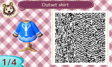 Animal Crossing Wind Waker shirt qr