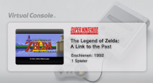 Wii U VC A Link to the Past