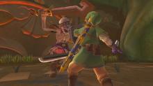 Link against Stalfos